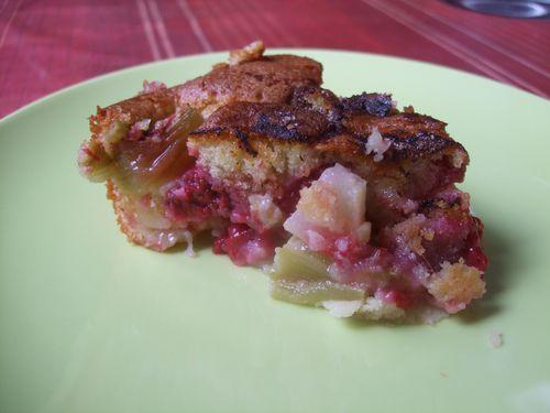 Gâteau facile aux fruits